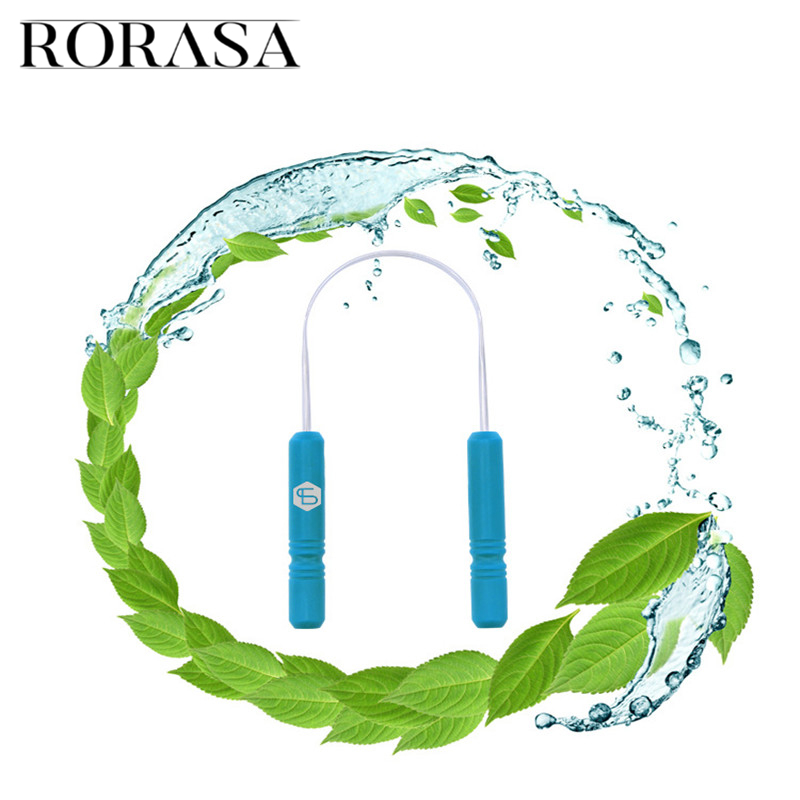 RORASA Healthy Tongue Cleaner Stainless Steel Silica Handle Tongue Scraper Oral Hygiene Dental Cleaning Brush Oral Care 1