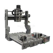 4 ציר CNC חיתוך מכונת Mach3 בקרת CNC נתב חרט 3040 PCB מכונת כרסום