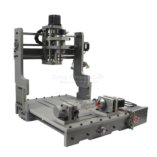 4 Trục Cắt CNC Máy Mach3 Điều Khiển CNC Router Khắc 3040 PCB Máy