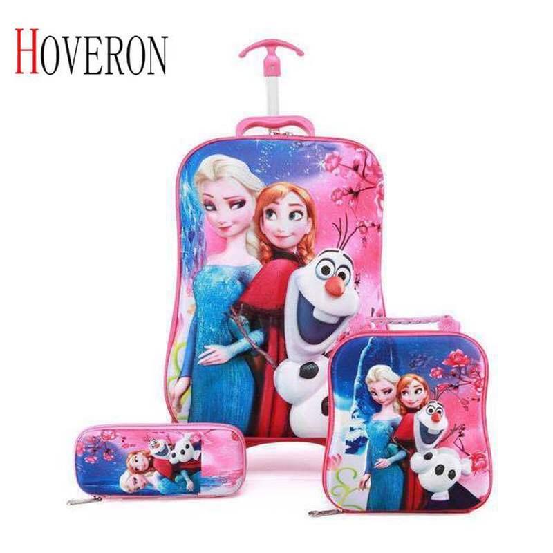 Valise enfant roulante sac de voyage Trolley enfant sacs cartable sac à dos enfant sac à dos enfant à roulettes 33 couleur