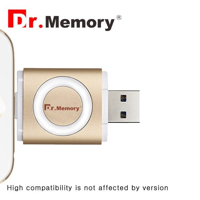 Доктор памяти Зашифрованы OTG U Диск Флешки для sony huawei andorid 3 в 1 флэш-стик для ipad iphone 6 6 s 7 plus USB flash диск