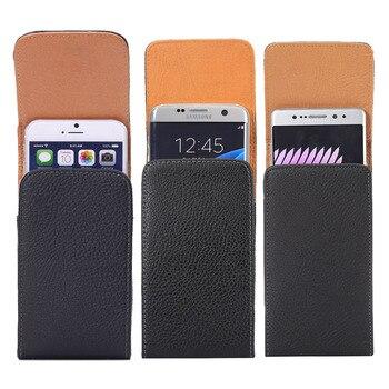 Universal Belt clip Holster for 3.5''~6.3'' Mobile Phone Bag Case Men Waist Bag for iPhone Samsung Huawei Hidden Magnetic Buckle 6