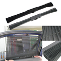 Auto Accessories 1 Pcs Gray Sun Shade Curtain Hot Selling Car Sunshade Retractable Side Window Film Curtains
