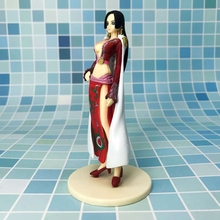 One Piece Anime Boa Hancock 14cm Comic Animation Action Figure Toys With Box Figurines Sexy Girls Wholesale Adult Toy Model Doll недорого