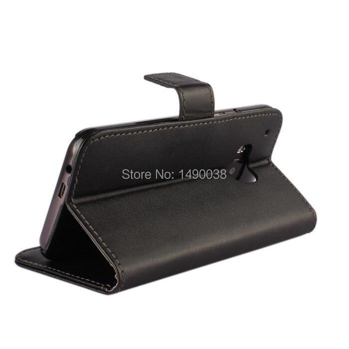 Svart högkvalitativt PU-läderplånbok för HTC One M9 Cover Flip - Reservdelar och tillbehör för mobiltelefoner - Foto 3