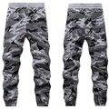 Mens Winter Warm Pants Military Camouflage Hip hop Sweatpants Elastic Waist Harem Dance Jogger Thick Cotton Baggy Trousers XXXL