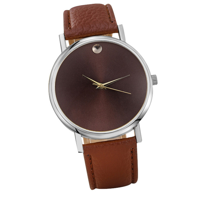Gofuly 2019 New Style Fashion Casual Women Watch Ladies Simple Leather Watches R