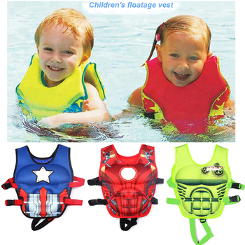 2-6Y Baby Non Inflatable Swim Vest Safety Baby Float Kids Swim Trainer Boy Girl Assisted Swimwear Learning Swimming Equipment Activity & Gear
