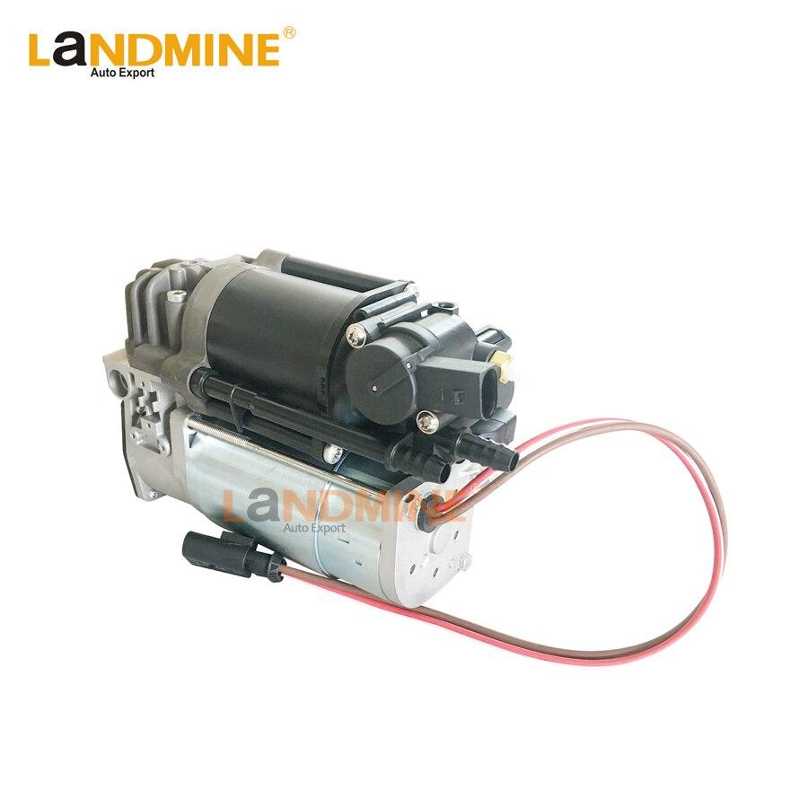 จัดส่งฟรีใหม่ Air Suspension Air Compressor Fit Bmw F01 F02 F04 740i 750i 37206789450