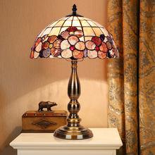 Compra Lamps De Baratos Tiffany Lotes Desk Glass Calidad Alta EY92IDHW