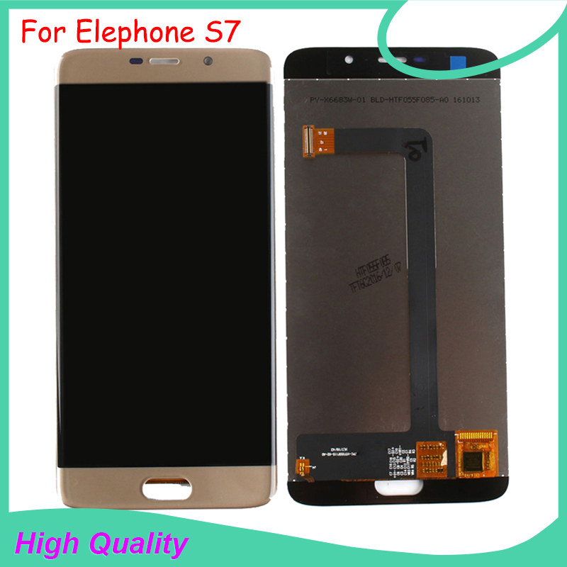 High Quality For Elephone S7 LCD Display Touch Screen Digitizer For Elephone S7 lcd screen Free Tools high quality for elephone g6 lcd display