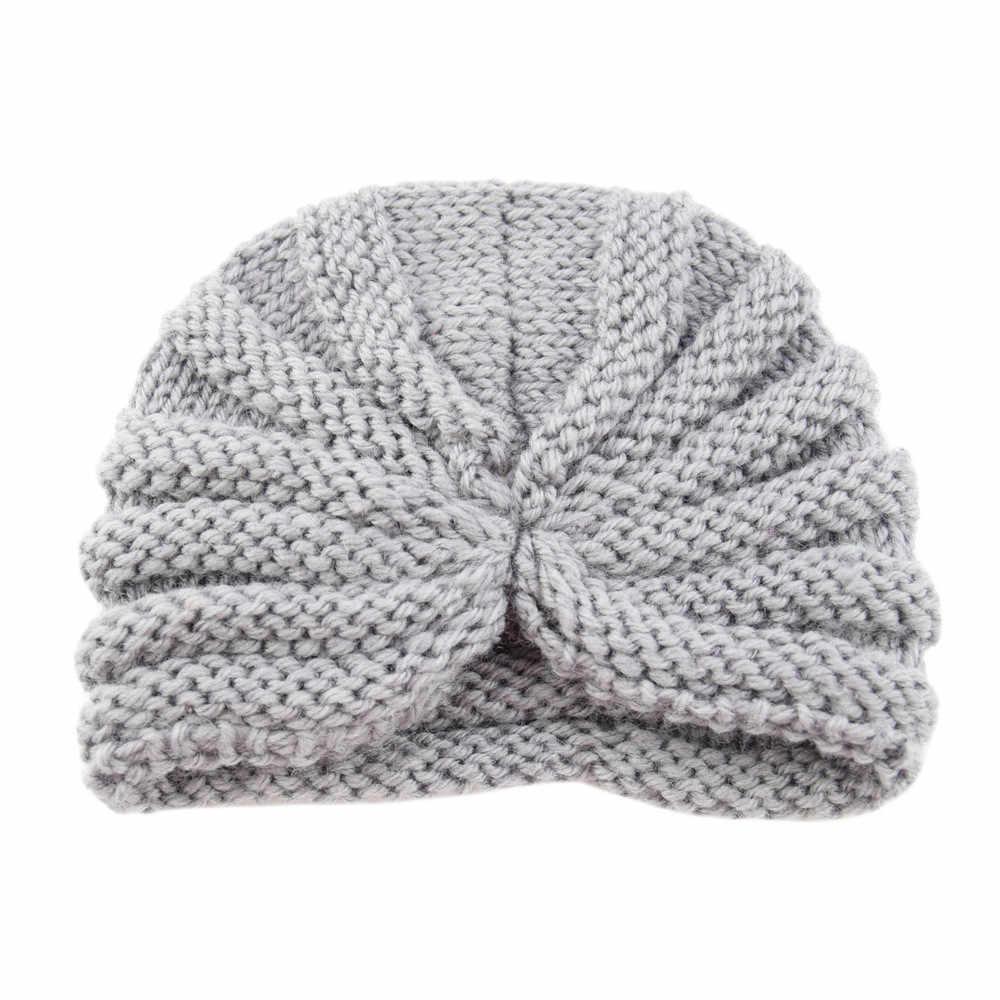 de180866f5b TELOTUNY Baby hat Toddler Girls Boys winter knitted warm hat turbna Infant  Warm Winter Knit Beanie