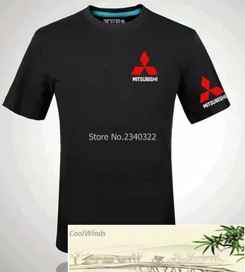 Mitsubishi Motors logo T shirt men and women work clothes 4S shops ...