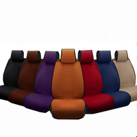 1 pcs Breathable car seat covers pad fit for most cars /summer cool seats cushion Luxurious universal size car cushion