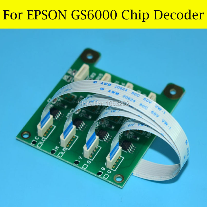 Good Chip Decoder For Epson Stylus PRO GS6000 Printer for epson stylus pro gs6000 speed reduction belt