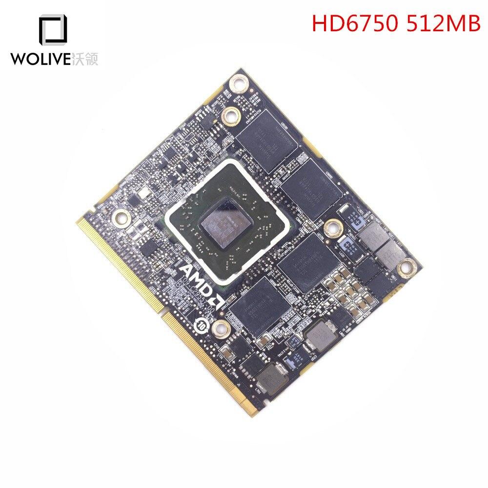 Carte vidéo Pour iMac A1312 A1311 2010 2011 HD6750 HD6750m Vidéo Carte Graphique GPU 109-C29557-00 216-0810005 661-5944