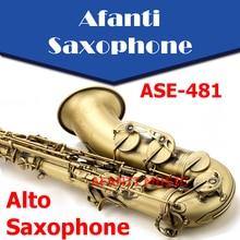 Afanti Music Eb tone / Brass body / Gilding Alto Saxophone (ASE-481)
