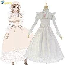 Anime Hataraku Saibou Cells at Work Macrophages Cosplay Costume Dress