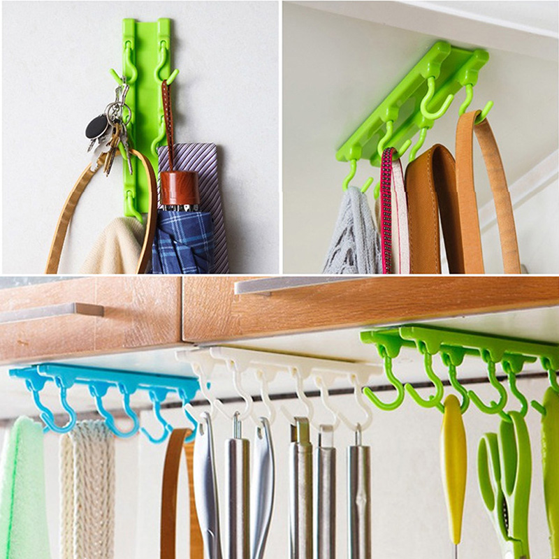 Kitchen Cabinets That Hang From The Ceiling: Kitchen Utensils Rack Holder Hook Ceiling Wall Cabinet