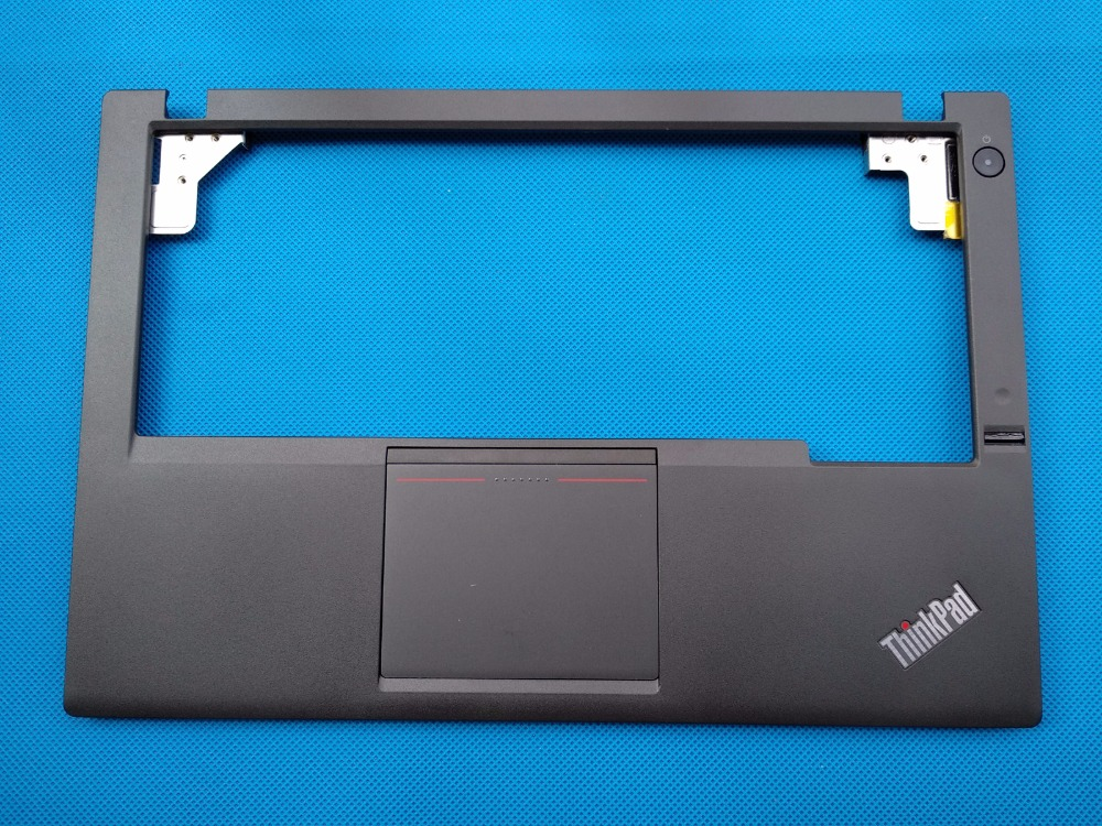 New Original for Lenovo ThinkPad X240 X240i X250 X250I Palmrest Upper Case  With Touchpad and Fingerprint Reader 04X5180 00HT392 gzeele new for lenovo thinkpad s1 yoga keyboard bezel palmrest cover with touchpad and connecting cable 00hm067 00hm068 black c