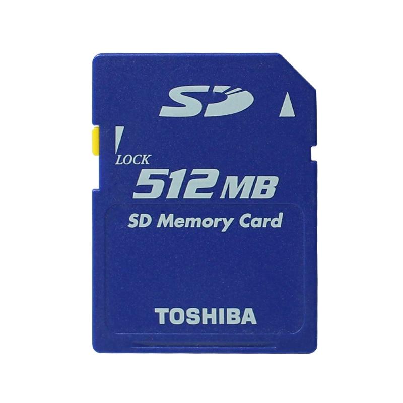 Promotion Original Toshiba 512MB SD Card Class2 SD 512M Memory Card Secure SD Memory Card for Digital Cameras