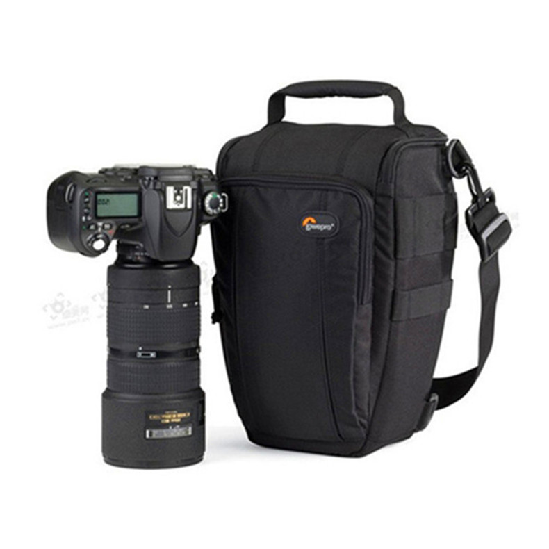 Free Shipping Genuine Lowepro Toploader Zoom 55 AW High quality Digital SLR camera Shoulder bag With waterproof cover