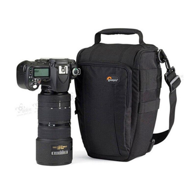 Livraison Gratuite Véritable Lowepro Toploader Zoom 55 AW Haute qualité Numérique appareil photo REFLEX D'épaule sac Avec couvercle étanche
