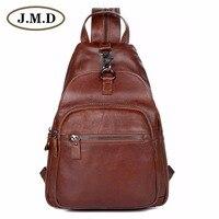 JMDที่มีคุณภาพสูงจริงหนังผู้ชายกระเป๋าหน้าอกขนาดเล็กคู่กระเป๋าสายคล้องสำหรับMan Satchelsกระเป๋า4...