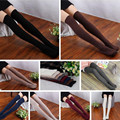 Fashion Women Winter Long Over Knee Stockings Knitted Solid Leg Warmer Thighs High Stockings Female Twist Pattern Stocking