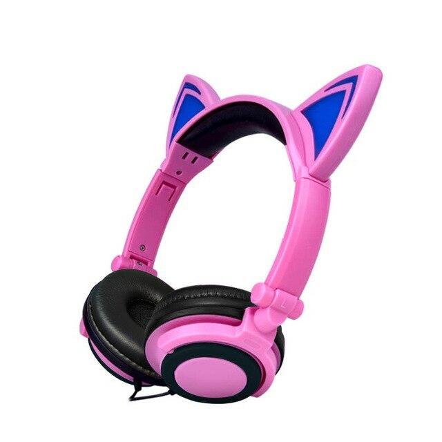 Foldable Cat Ear headphones 2