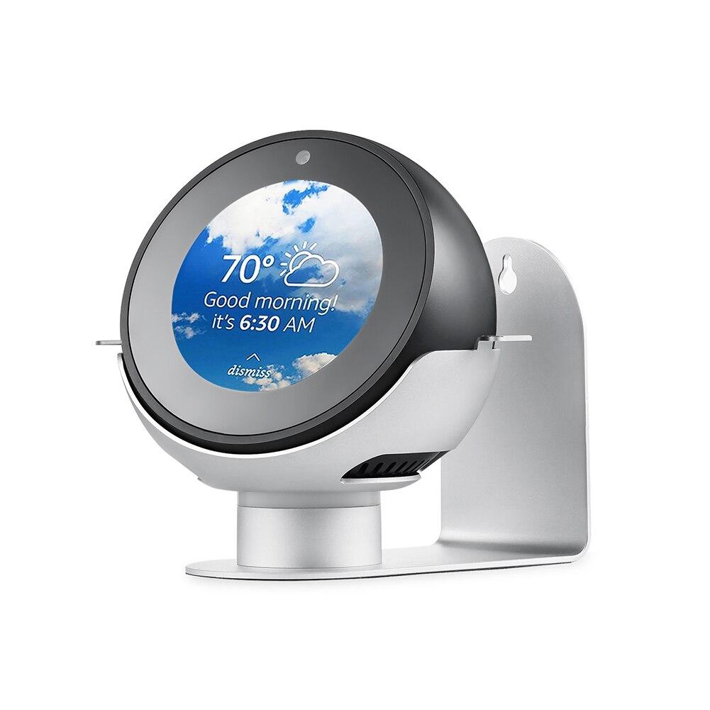 360 Grad Rotation Metall Wand Halterung Aufhänger Stehen Halterung Für Amazon Echo Spot Xxm8 Heimelektronik Zubehör Mikrofonstativ