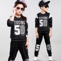 boys clothing set girls clothing children sport suit girls clothes suits for boys Baseball uniform autumn 2017