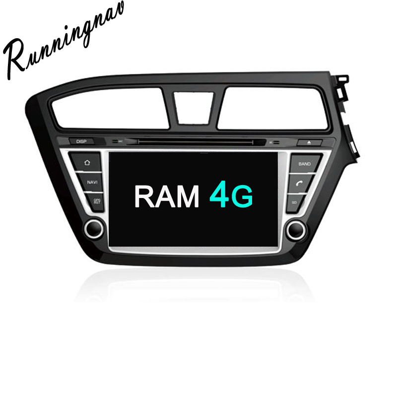 Android 8.0 Octa Core PX5/PX3 Fit HYUNDAI i20 2014- Car DVD Player Navigation GPS Radio