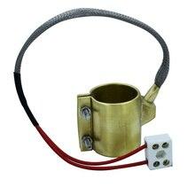 Envío Gratis 35x50mm calentador de banda de latón 35mm diámetro interior 50mm Altura 110 V/220 V /380V 220W para máquina de moldeo por inyección