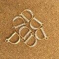 Tono Oro Libre del envío Plateado Rhinestone de Letra Del Alfabeto D Encantos de La Joyería Collar Pulsera Joyas de Aleación de Metal Llavero Encanto