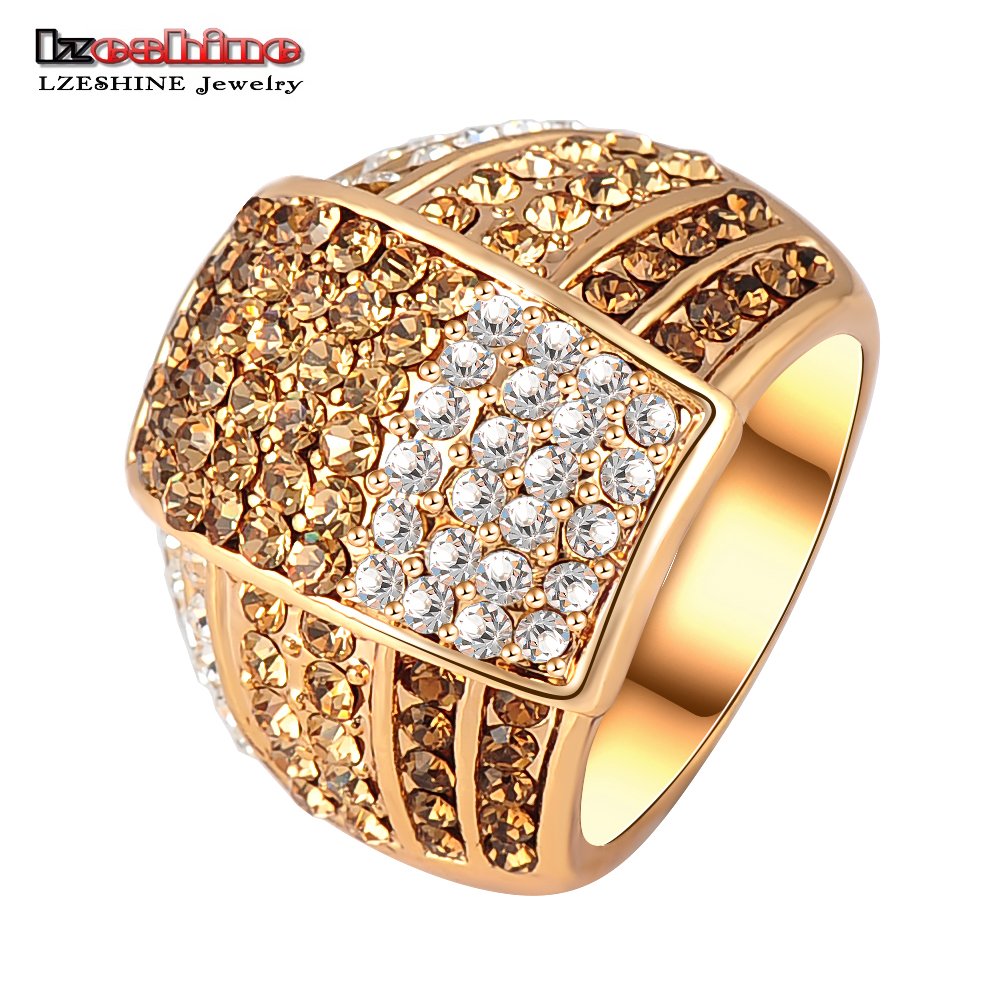 ring sphere vita rose crystal fashion women outlet jewelry c online bar rings fashionable jewellery swarovski fede gold