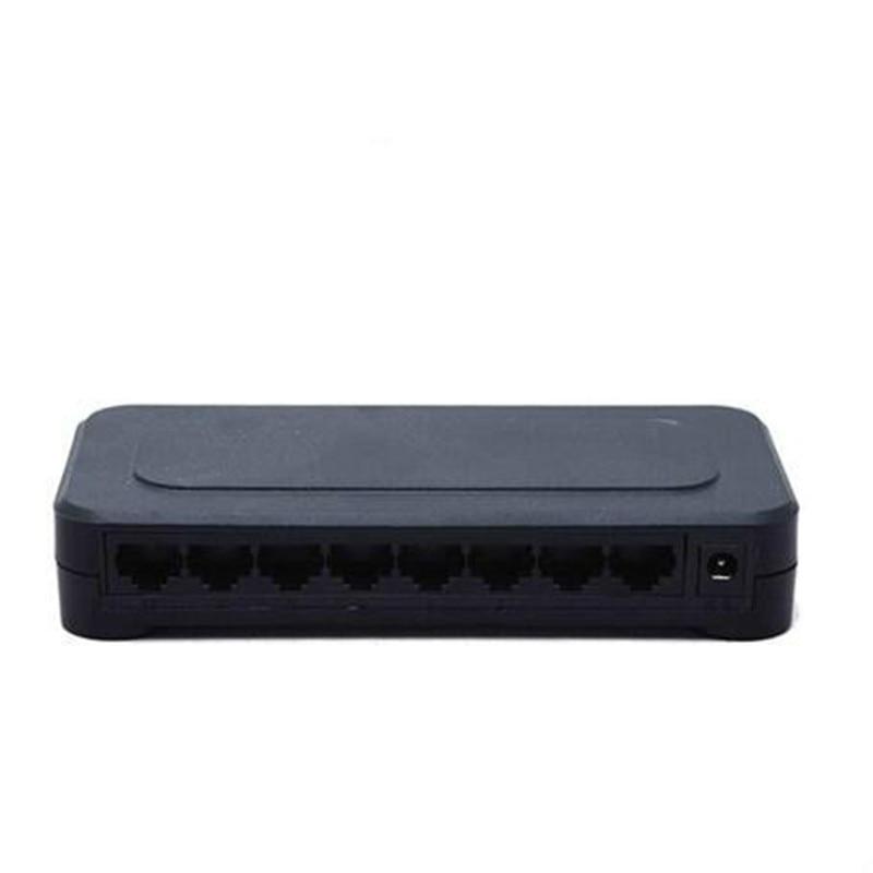 OEM 10/100 mbps RJ45 8 Port Fast Ethernet Switch Lan Hub US Eu-stecker 5 v Adapter Netzteil Netzwerk schalter