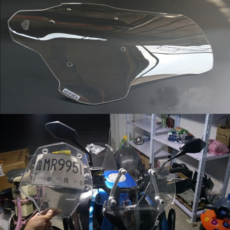 Windshield WindScreen Visor Viser Double Bubble Motorcycle parts For CFMOTO 650MT 650 MT starpad for cfmoto spring motorcycle 650 series air filter