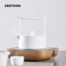 220V Electronic Teapot Heater Tea Stove Set Warmer Electric Ceramic Heaters Kit Coffee Cup Mug Coarse Pottery Kettle heating New