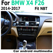 Car Android screen For BMW X4 F26 2014-2017 NBT touch display GPS Navigation radio stereo Audio head unit multimedia player