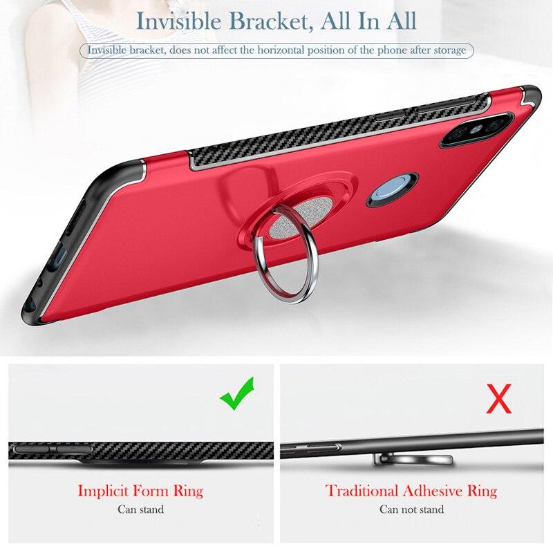 Magnet Car Holder Case For Xiaomi Redmi Note 7 5 6 K20 8 Pro 6A 5A Prime 4X 4A S2 Mi 9T 8 A2 Lite 9 MAX Note Mix 2 3 Cover Etui