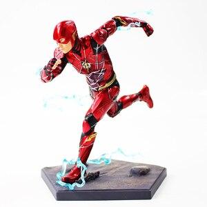 Image 3 - 16cm 플래시 아이언 스튜디오 Justice League Art Scale 1/10 PVC 액션 피규어 소장 모델 장난감