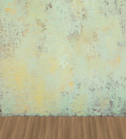 ФОТО Solid Blue Wall Photography Backdrops for Wedding Dark Wood Floor 200x300cm Photo Background Backdrops for Studio fotografia