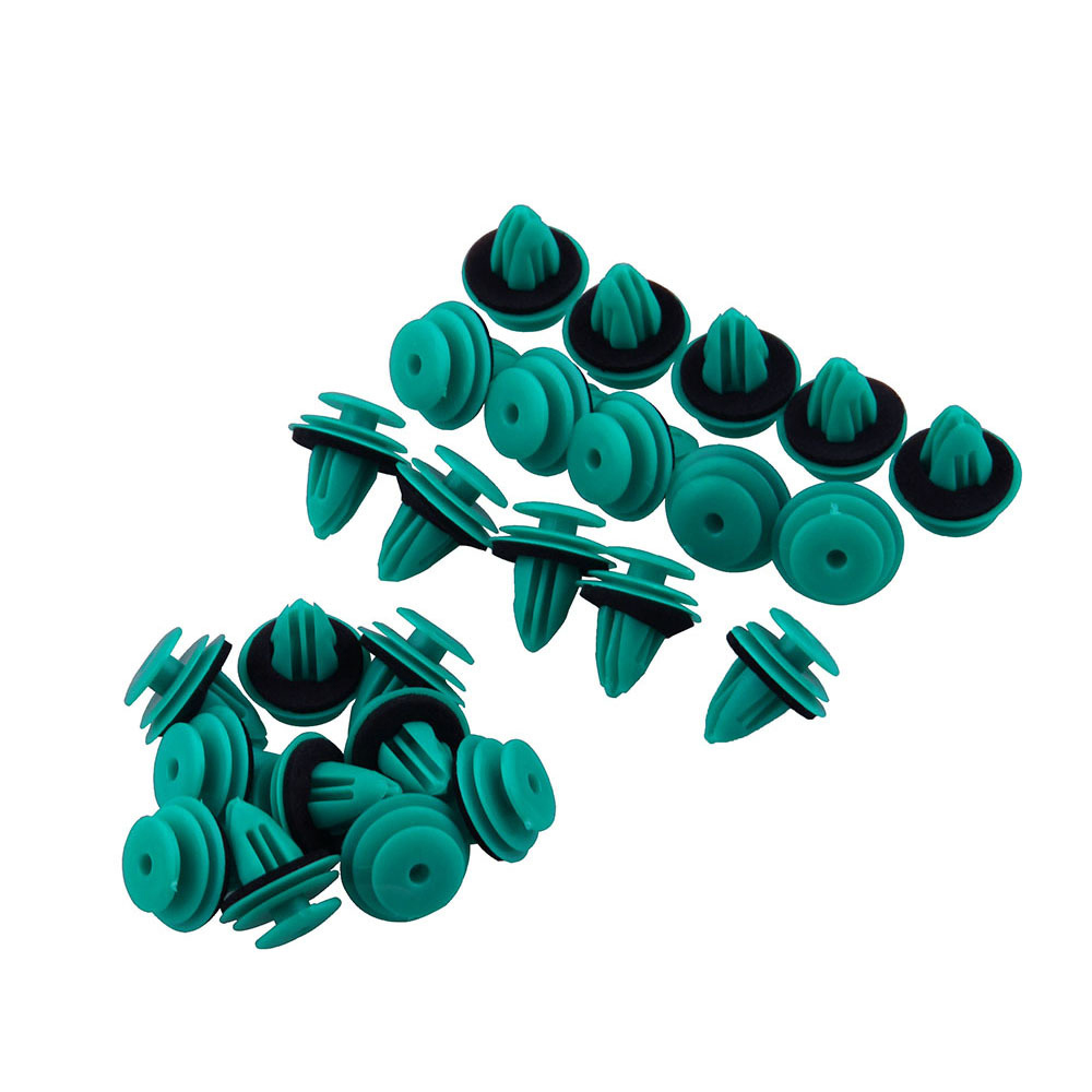 Image 2 - 25Pcs Auto Car Viehcle Plastic Fastener Rivet Retaining Push Clips Stuff Accessories for Toyota 90467 10188-in Auto Fastener & Clip from Automobiles & Motorcycles