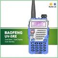 Azul original baofeng uv-5re rádio em dois sentidos dual band transceptor para o hotel, polícia, comercial, Uso de presunto