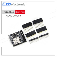 10PCS Real Time Clock Data Log Logger Shield For WEMOS D1 Mini With Micro SD RTC