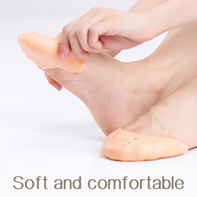 Ballet Toe Pad Flesh Silicone Pad Ballet Pointe Shoes Foot Protector For Ballet Dancer цена и фото