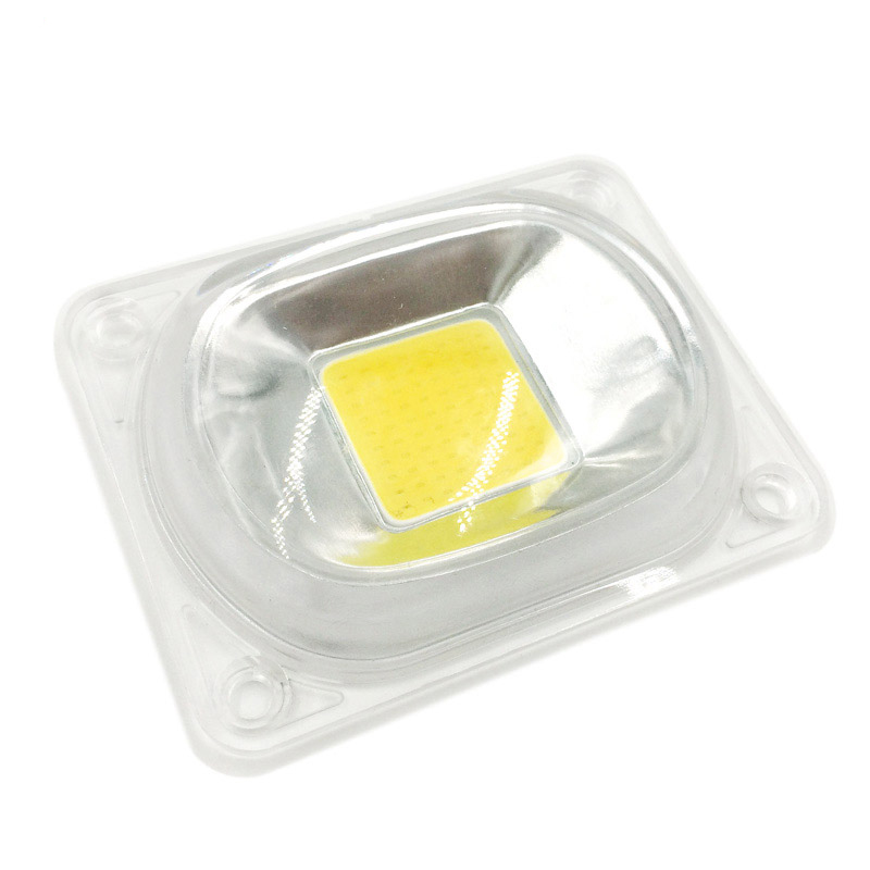 1set LED COB Chip With Lens Reflector Smart IC Chip 50W 30W 20W AC 230V DIY For LED Floodlight Need Heatsink To Cooling