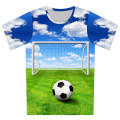 New 2016 Summer Children 3D T Shirt Football Basketball Bullet Weed Print T-Shirt Boy Lovely Creative Tee Tops Baby Boy Clothes