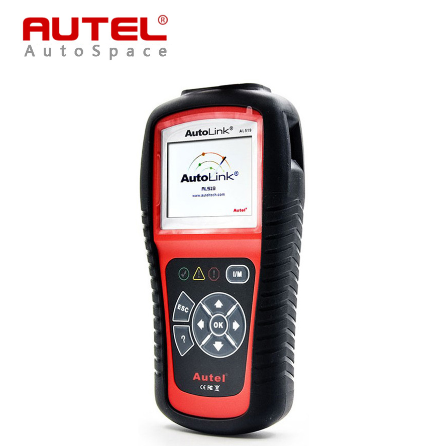 ФОТО Autel Autolink AL519 Universal OBD2 Scanner Car DTC Code Read Scan AL-519 OBDII Auto Diagnostic-Tool OBD 2 II Scaner PK MS509
